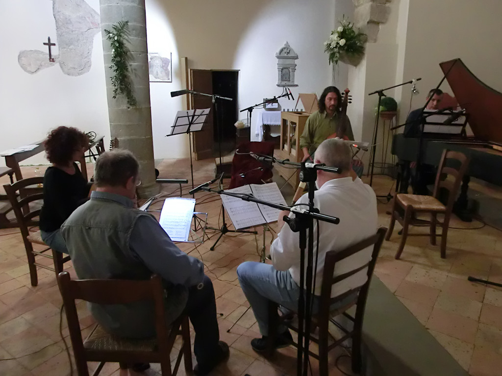 settembre 2013 Anghiari | Pieve di Sovara | Durante la registrazione