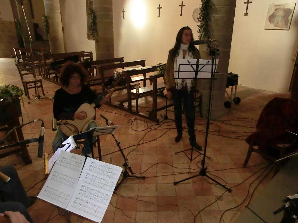 settembre 2013 Anghiari | Pieve di Sovara | Elisabetta ed Arianna