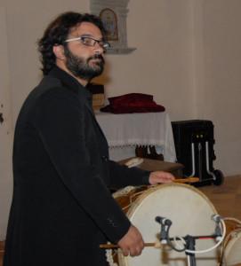 Massimiliano Dragoni, percussioni